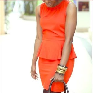 H&M Peplum Dress Size 4
